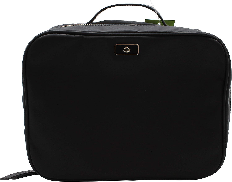 Kate Spade New York Large Dawn Travel Cosmetic Case Bag WLRU5378 Black