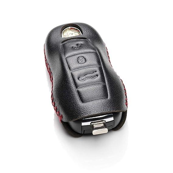 Amazon.com: Vitodeco - Funda de piel para llave de Porsche ...