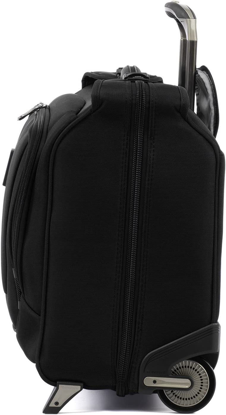 Suitcase Travelpro Luggage Crew 11 22 Carry-on Rolling Garment Bag Black