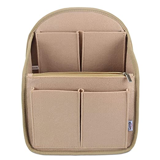 3e47687aeac8 Luxja Backpack Organizer, Felt Organizer Insert for Backpack
