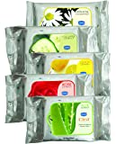 Ginni 6 GINNI-CLEA Cleansing & Makeup Remover Wipes - Pack of 5