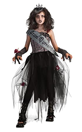 Rubies Official 2 884782 Goth Prom Queen Dress - Medium