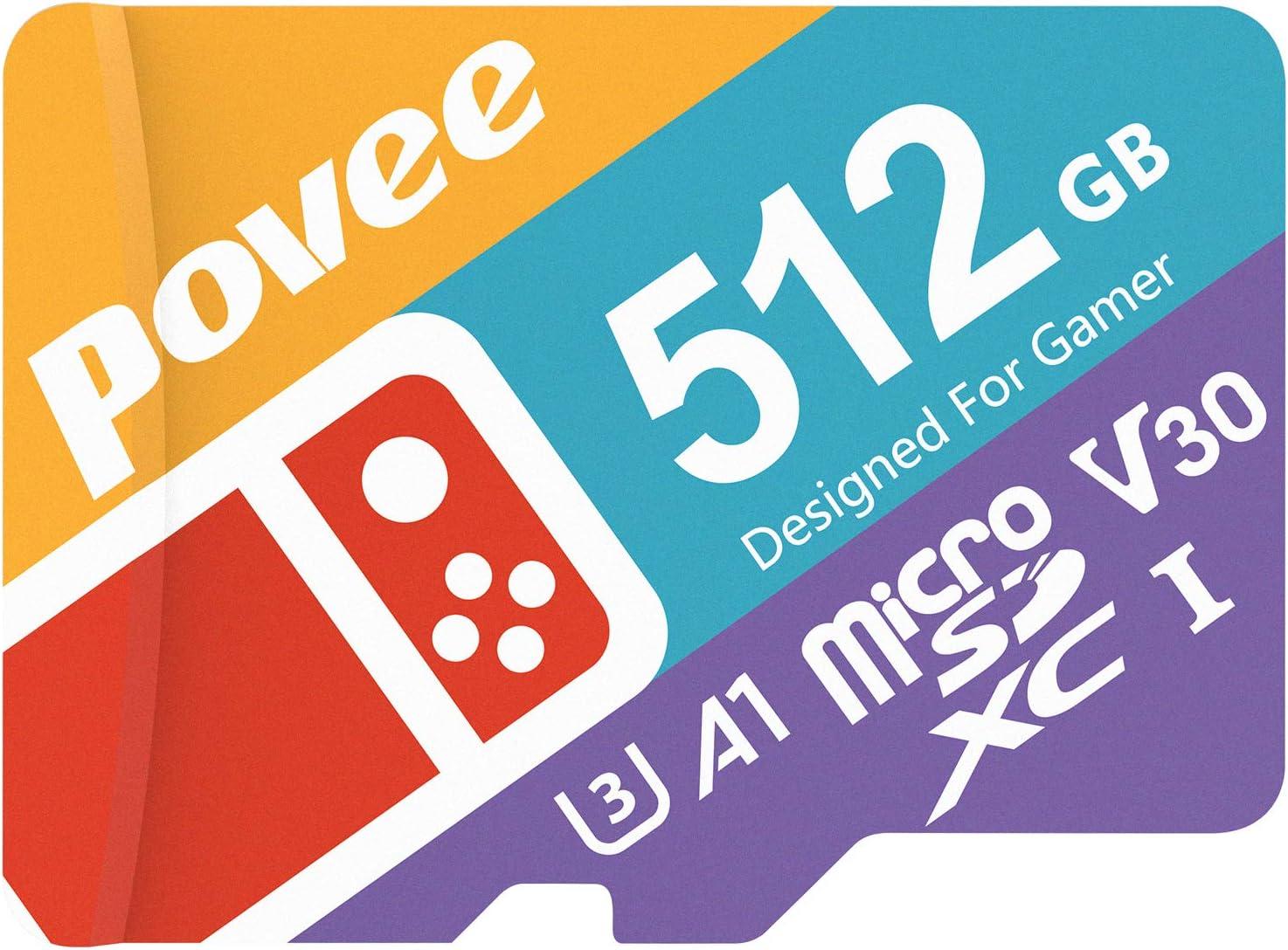 512gb Micro Sd Card For Nintendo Switch U3 Microsdxc Computers Accessories