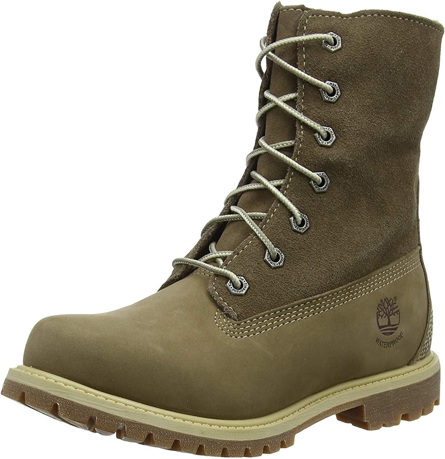 Timberland Damen Authentics Teddy Fleece Waterproof Chukka