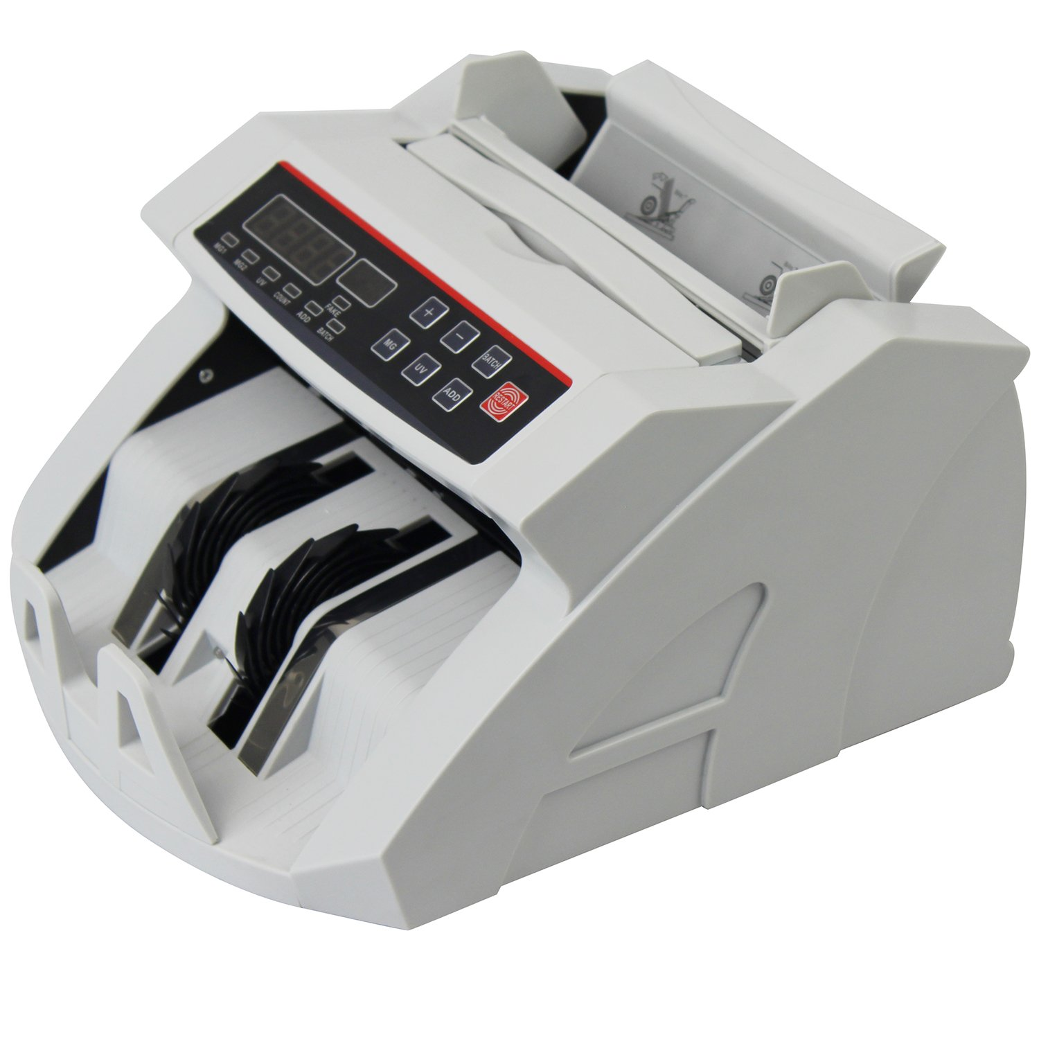 Ovovo Money Counter Currency Counter Bill Counting Machine with UV/MG Counterfeit Detection