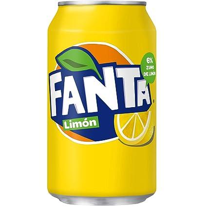 Fanta Bebida Refrescante con Zumo de Limón [1 Unidad]
