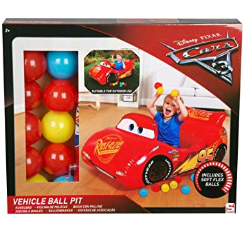 Disney Pixar Cars 3 Flash Mcqeen Piscine A Balles Gonflable