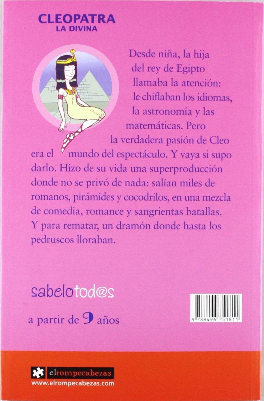Cleopatra la Divina: Sara Cordón Hornillos: 9788496751811: Amazon.com: Books