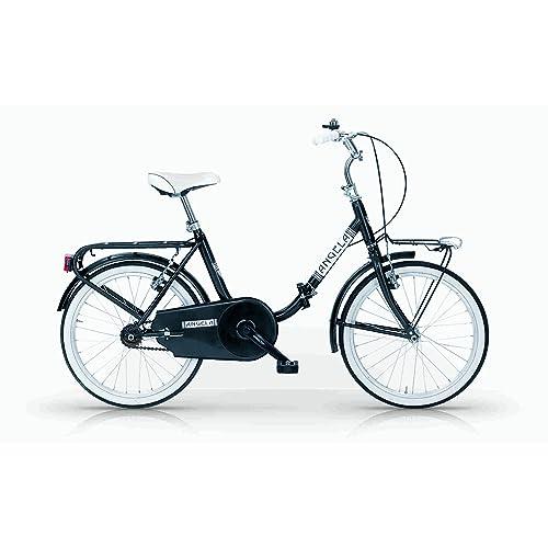 Mbm - Angela 24'' Bicyclette Vélo Pliant Folding Bike Noir