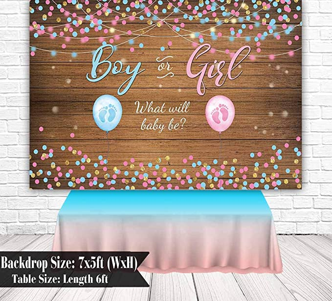 OERJU 12x10ft Vintage Woodboard Its a Boy Baby Shower Backdrop Blue Floral Birhday Photography Background Gender Reveal Party Cake Table Banners Kids Photo Studio Props Kids Room Decor Wall
