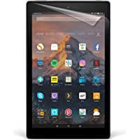 """NuPro Fire HD 10 Screen Protector Kit (10"""" Tablet, 7th Generation – 2017 release), 2-Pack, Clear"""