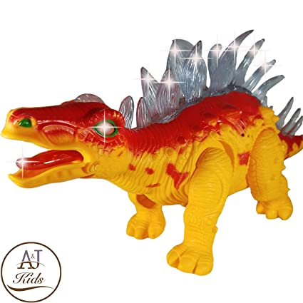 Electric Kids Children Toy Walking Dinosaur T-Rex Figure Toy With Light Sound gg Sonstige