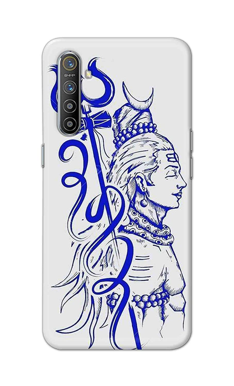 Skyco Back Cover For Oppo Realme X2 Shiva Sketch Shiv Amazon In