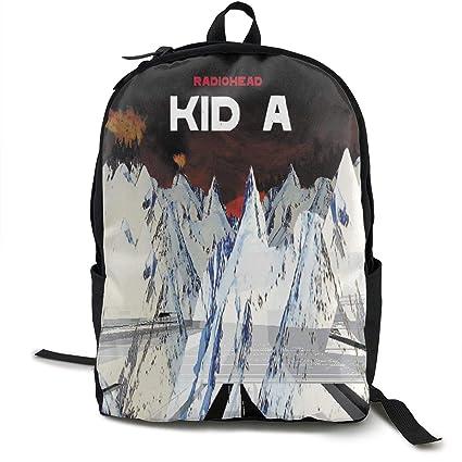 d74e70fc1 Amazon.com: BeatriceBGault Radiohead Kid A Canvas Backpack Fashion School  Bag: Home & Kitchen