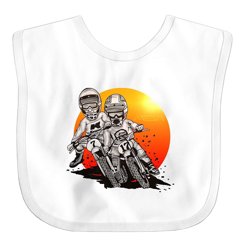 Dirt Bike Motocross Baby Bibs Unisex,Cute Baby Gift for Boys /& Girls