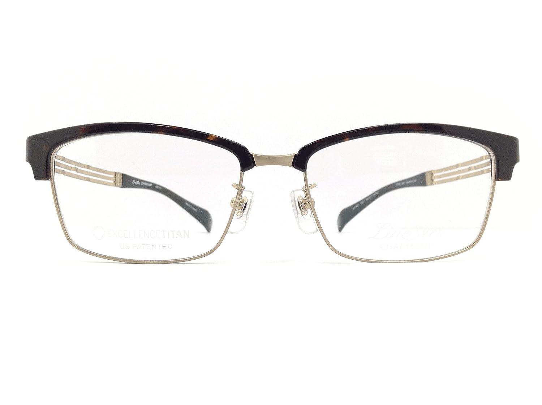 LineArtCHARMANT(ラインアートシャルマン) メガネ XL1495 col.DB 54mm 【料金そのままで伊達メガネ度付きメガネも対応可】 B07BTTRGH9