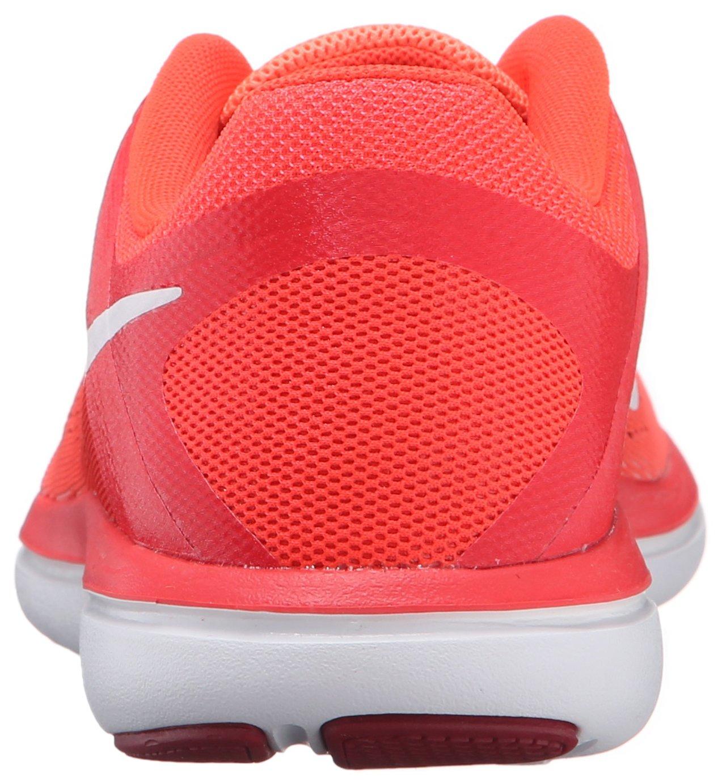 NIKE Women's Flex 2016 RN Running Shoe, Bright Mango, 8 B(M) US
