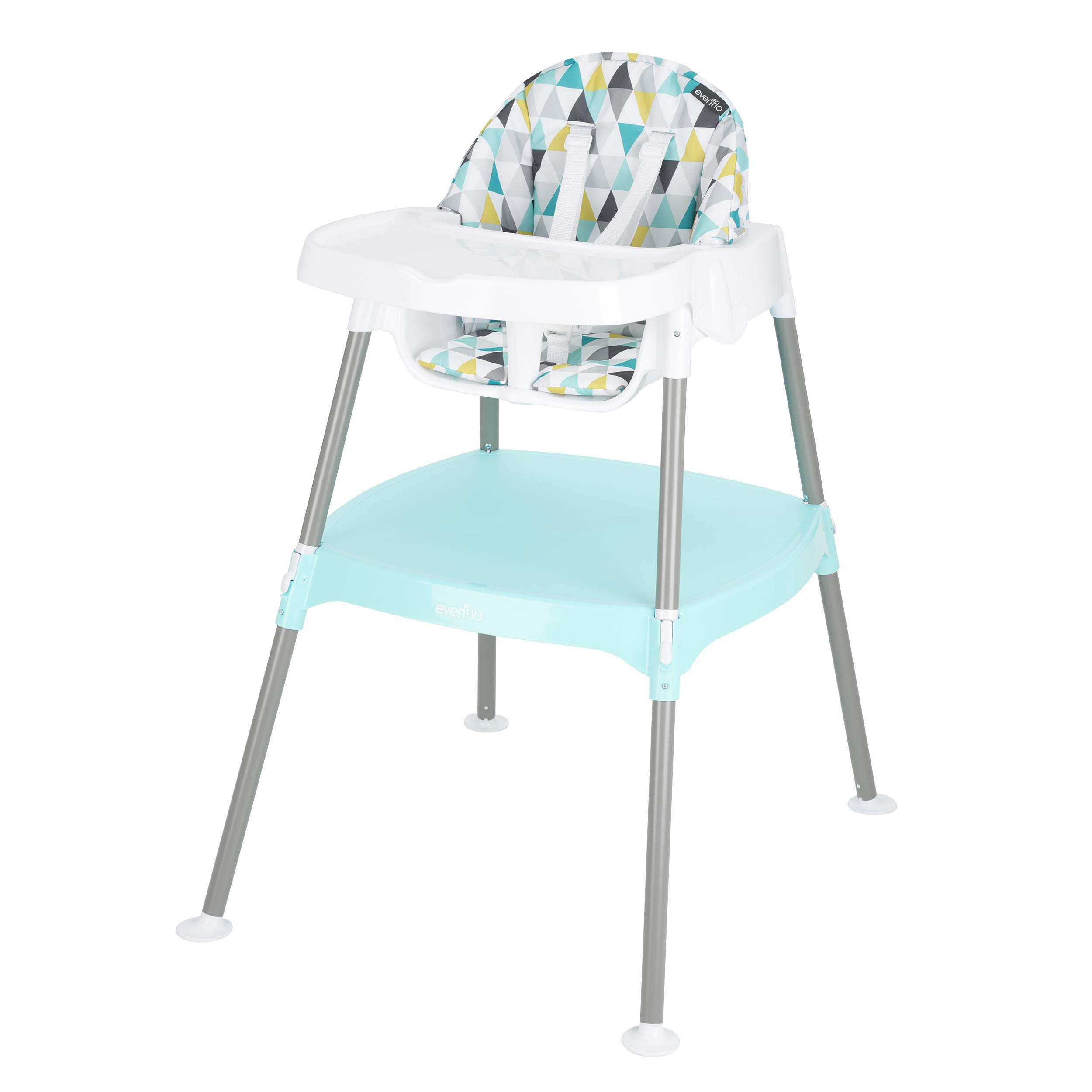 Evenflo 4-in-1 Eat & Grow Convertible High Chair (Prism)