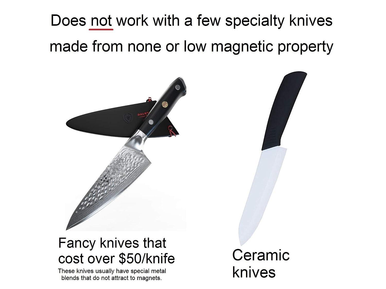 Amazon.com: Soporte para cuchillos de madera de bambú ...