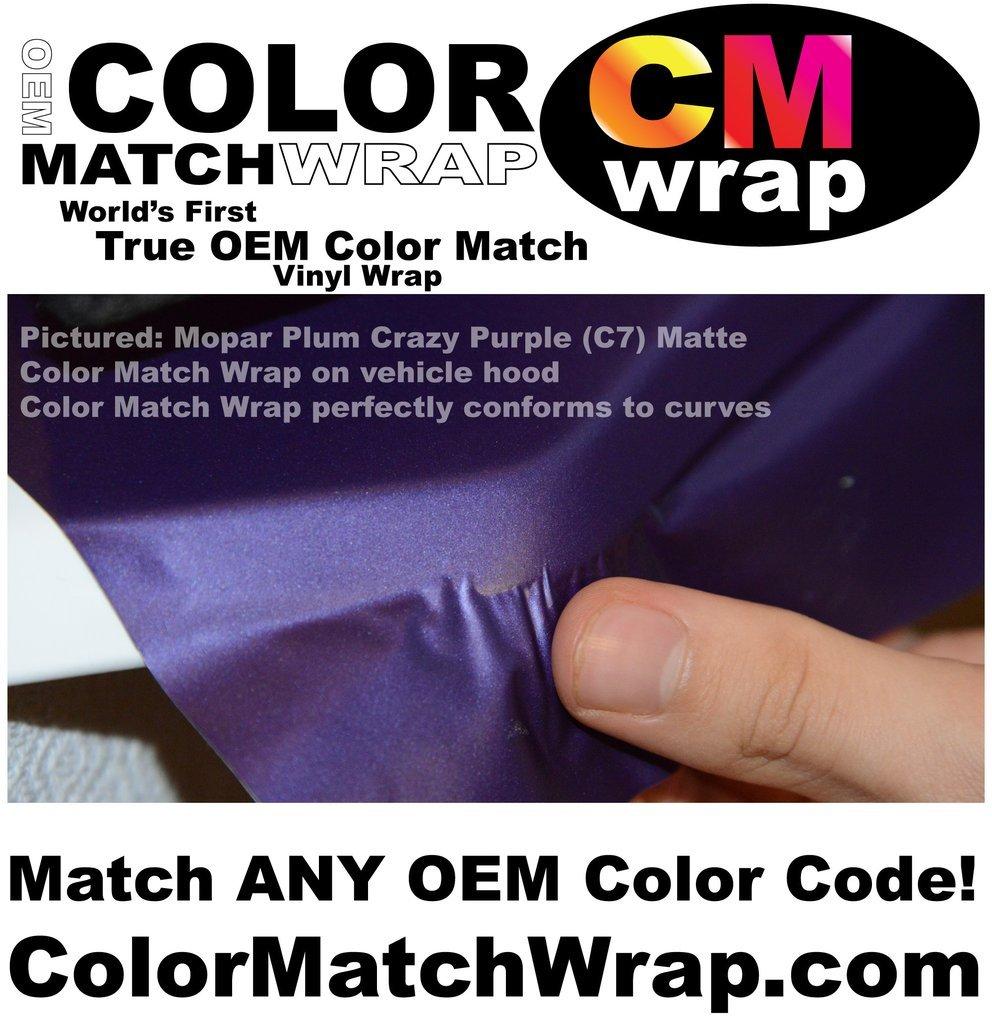 Color Match Wrap, OEM Paint Code Color Matching Vinyl Wrap