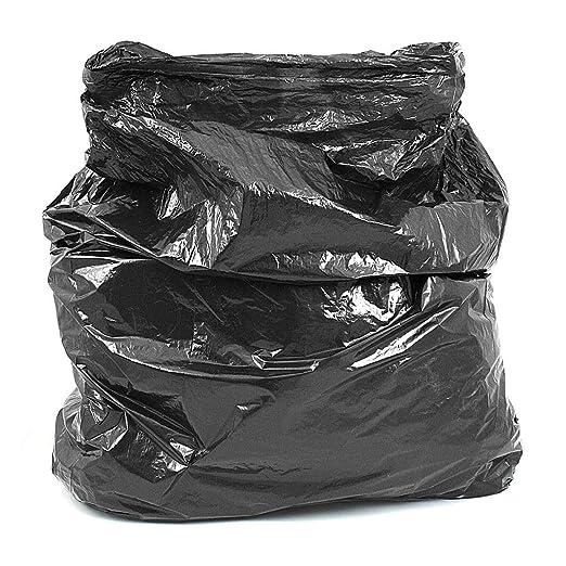 Bolsas de basura de resistencia media, color negro en caja ...