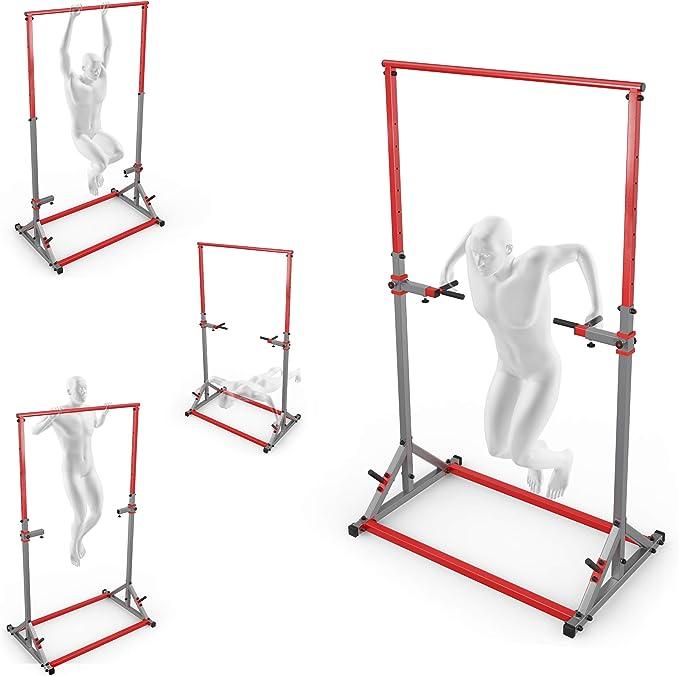 Squat Rack Peso Ajustable Levantamiento Stand Barbell Home Gym Equipos Portátil Fitness Entrenamiento Máquinas de Entrenamiento para el Interior Ejercicio Construir KSH012: Amazon.es: Deportes y aire libre