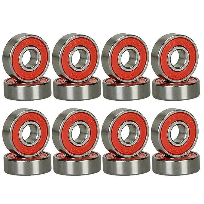 Amazon.com: Maxfind ABEC 9 Precision 608RS - Rodamientos de ...