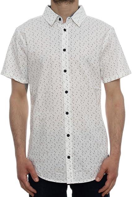 BLEND 20702269 Camisa, Blanco (70005), M para Hombre: Amazon.es: Ropa y accesorios