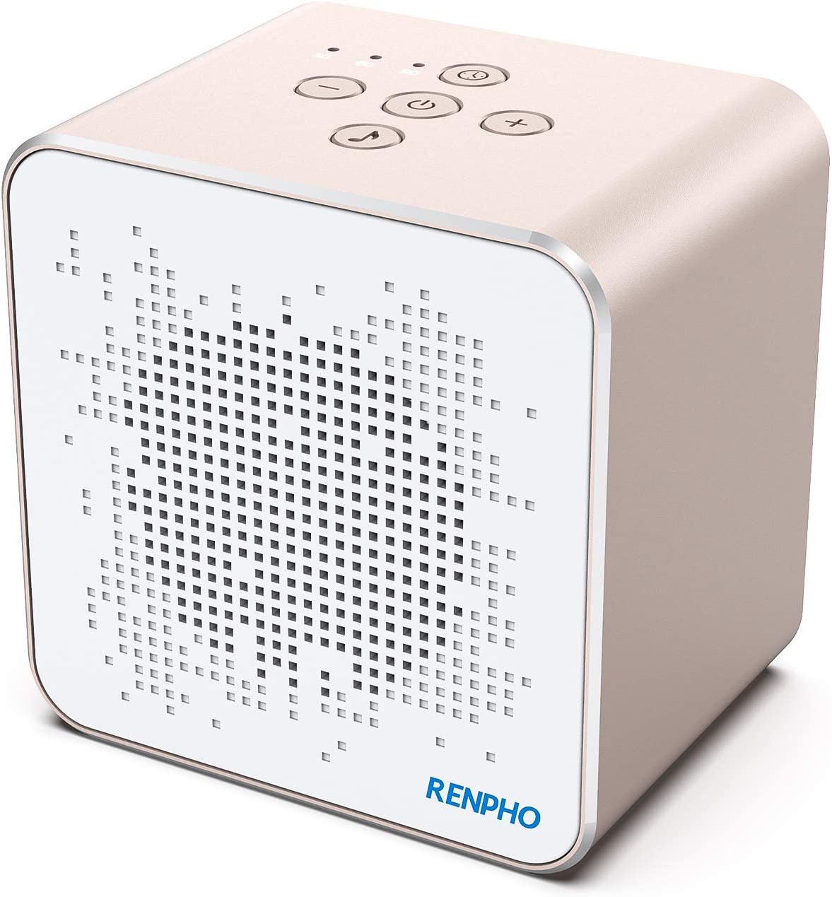 White Noise Machine, RENPHO Sound Machine for Sleeping Baby, Adult with 36 Soothing Sounds & Memory Timer Function, Privacy Noise Cancelling for Office, Portable for Travel Home, Powered by Micro USB