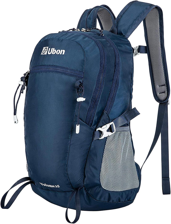 Ubon Hiking Backpack 25L Lightweight Travel Daypack for Men Women Teens