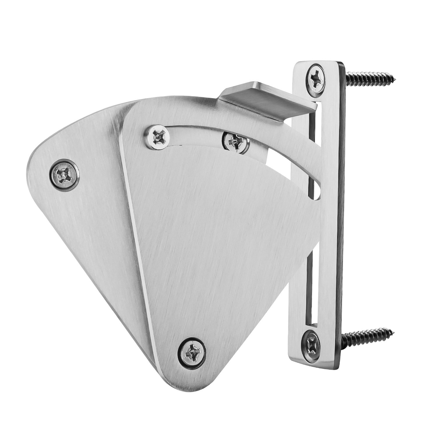 SMARTSTANDARD Barn Door Large Size Latch Lock Stainless Steel Privacy Latch Lock for Sliding Door Work for Pocket Doors Garage and Shed Wood Glass Gates