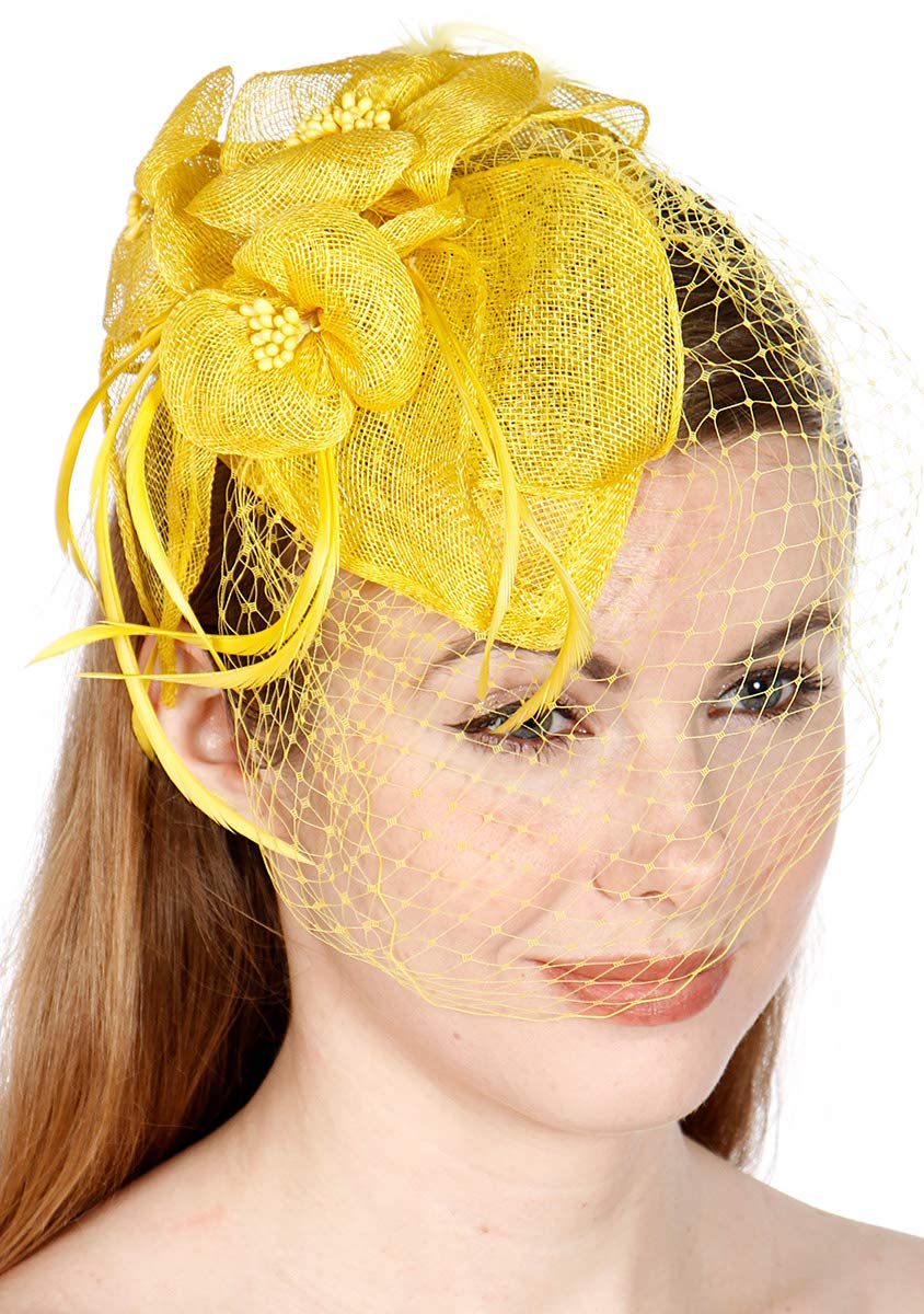Fascinators for Women Derby Hats for Women Tea Party Hats Church Hats Kentucky Derby Hats