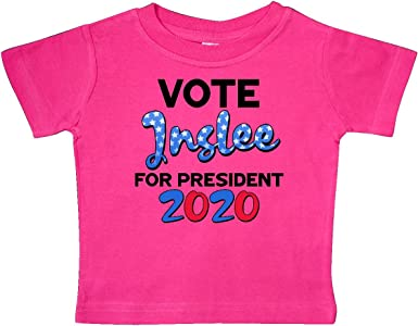 inktastic Vote Jay Inslee for President 2020 Baby T-Shirt