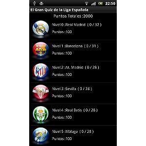 El Gran Quiz de la Liga Española: Amazon.es: Appstore para Android