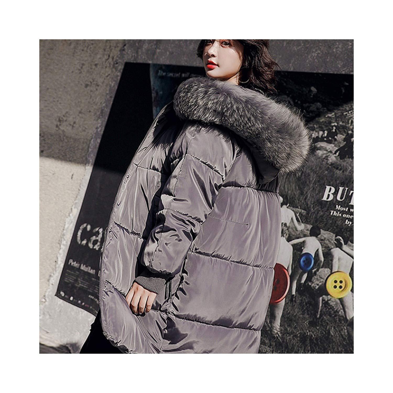 Amazon.com: world-palm Winter Jacket Women 2018 Female Coat Woman Parka Long Sleeve Hooded Loose Warm Faux Fur Collar: Clothing