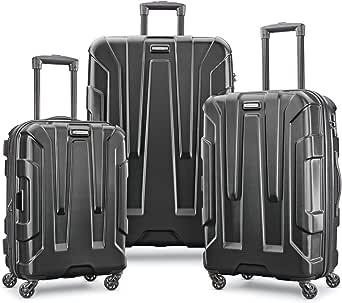 حقيبة سفر سامسونايت سنترك قابلة للتمدد بجوانب صلبة مع عجلات دوارة