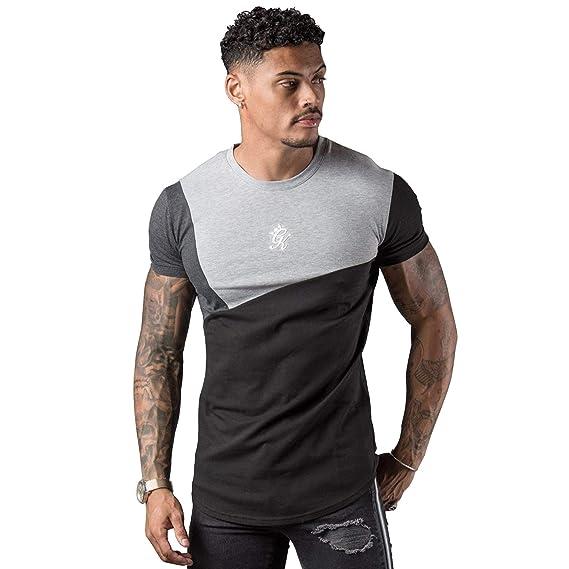 ae48fa40 Gym King Cotroni Half Sleeve T-Shirt - Black/Charcoal/Grey Medium Black