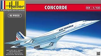 Heller - 80445 - Maqueta para Construir - Concorde - 1/125