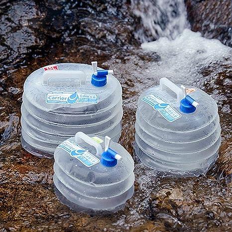 332 Page ANN Camping Agua Bidón Plegable Agua Potable dispensador de Agua portátil con Fijo Mont