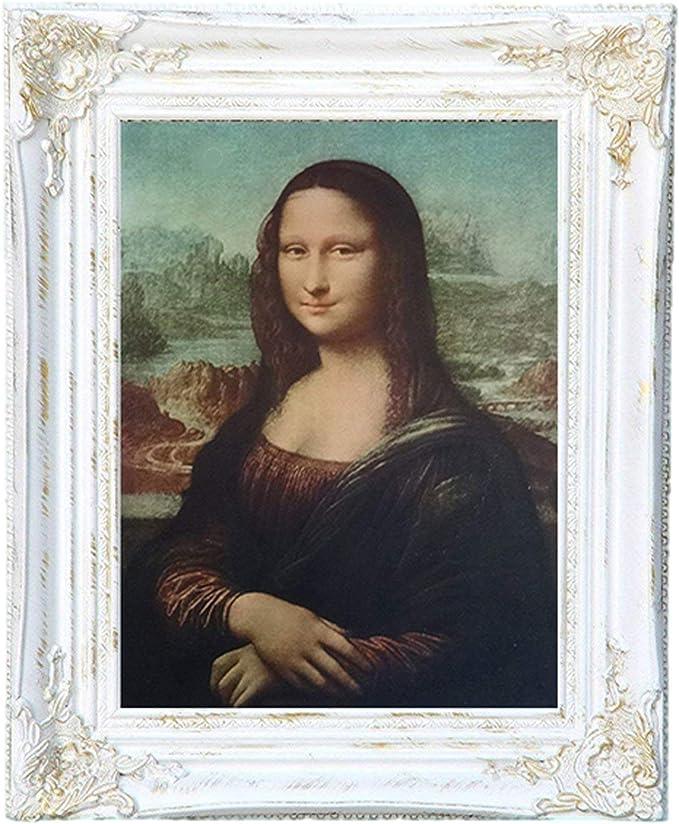 Mona Lisa - Cuadro de Pared (55 x 45 cm), diseño Barroco Antiguo de Leonardo da Vinci: Amazon.es: Juguetes y juegos