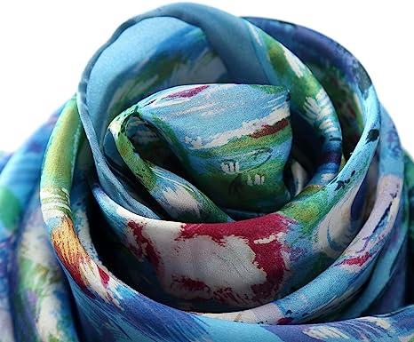 Jigsaw Floral Print Silk Long Scarf With Bird Pattern RRP £70 PRETTY!