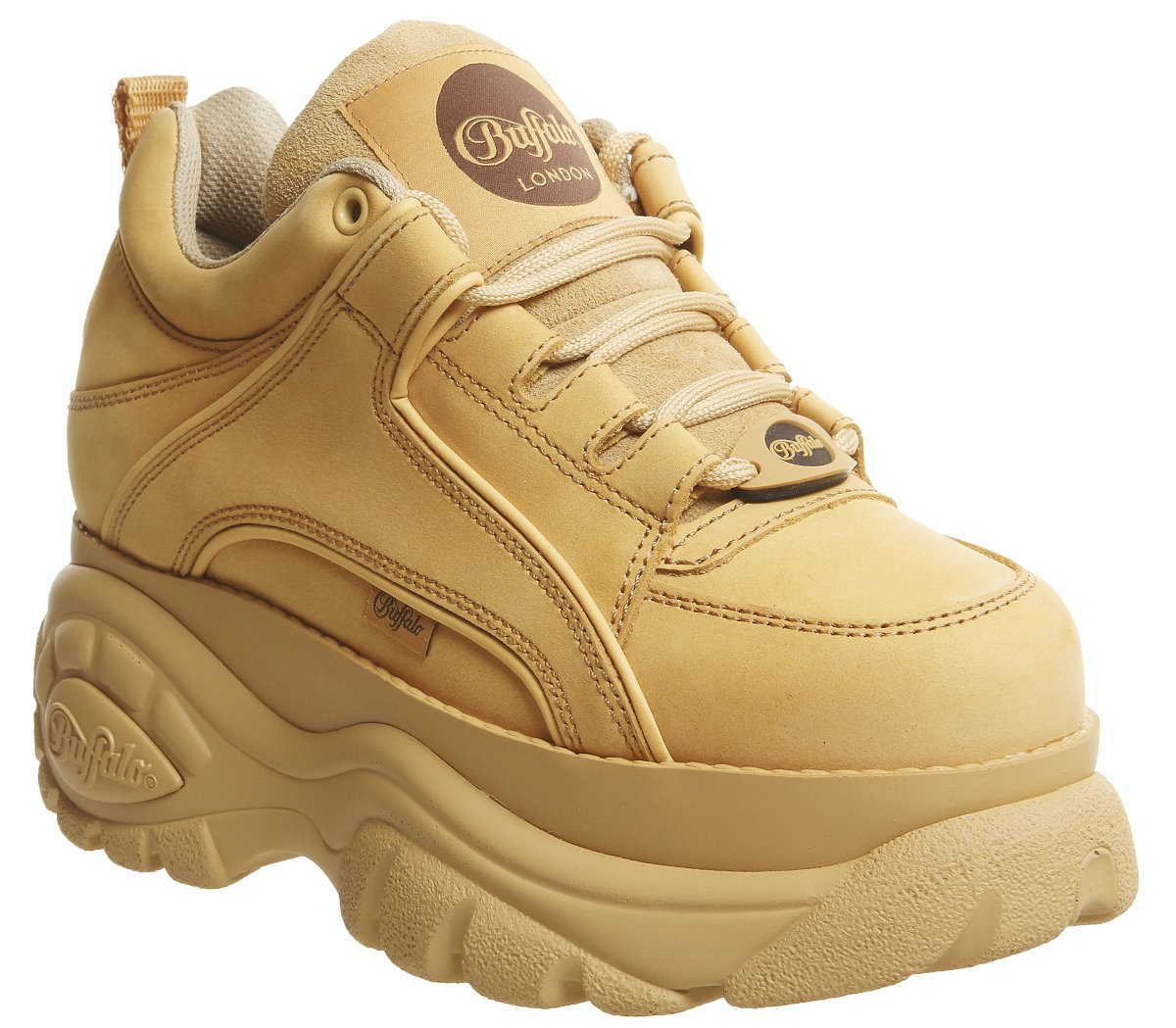 Honey BUFFALO 1339-14 2.0 Femme Chaussures Chaussures Fauve