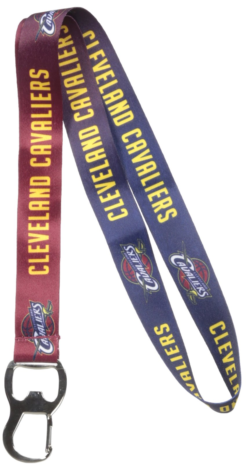 NBA Cleveland Cavaliers Ombre Lanyard, Wine, One Size by Pro Specialties Group