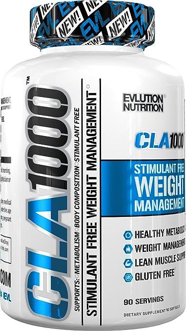 1 opinioni per Evlution Nutrition CLA 1000 | Integratore Naturale In Pillole Brucia Grassi
