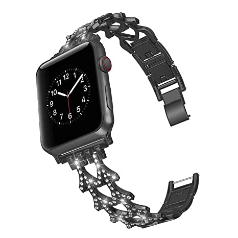 Smart Watches For Apple Watch Band Series 4 3 2 Stainless Steel Iwatch Strap 44mm 42mm 40mm Jewelry & Watches