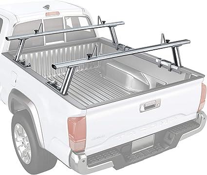 AA-Racks Model APX2502 - Escalera de Aluminio para camioneta con topes de Carga: Amazon.es: Coche y moto