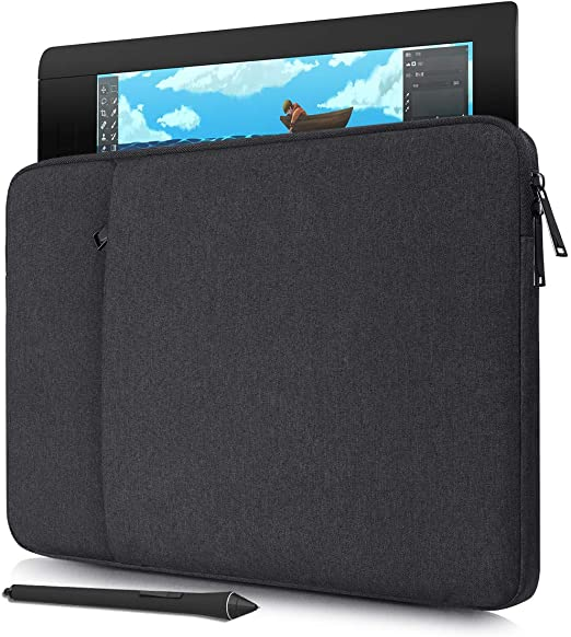 2048 Navitech Red Graphics Tablet Case//Bag Compatible with The HUION DWH69