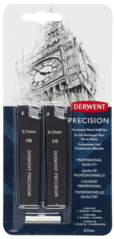 Derwent, set matita meccanica di precisione HB 0,7 mm ACCO UK Ltd 2302431