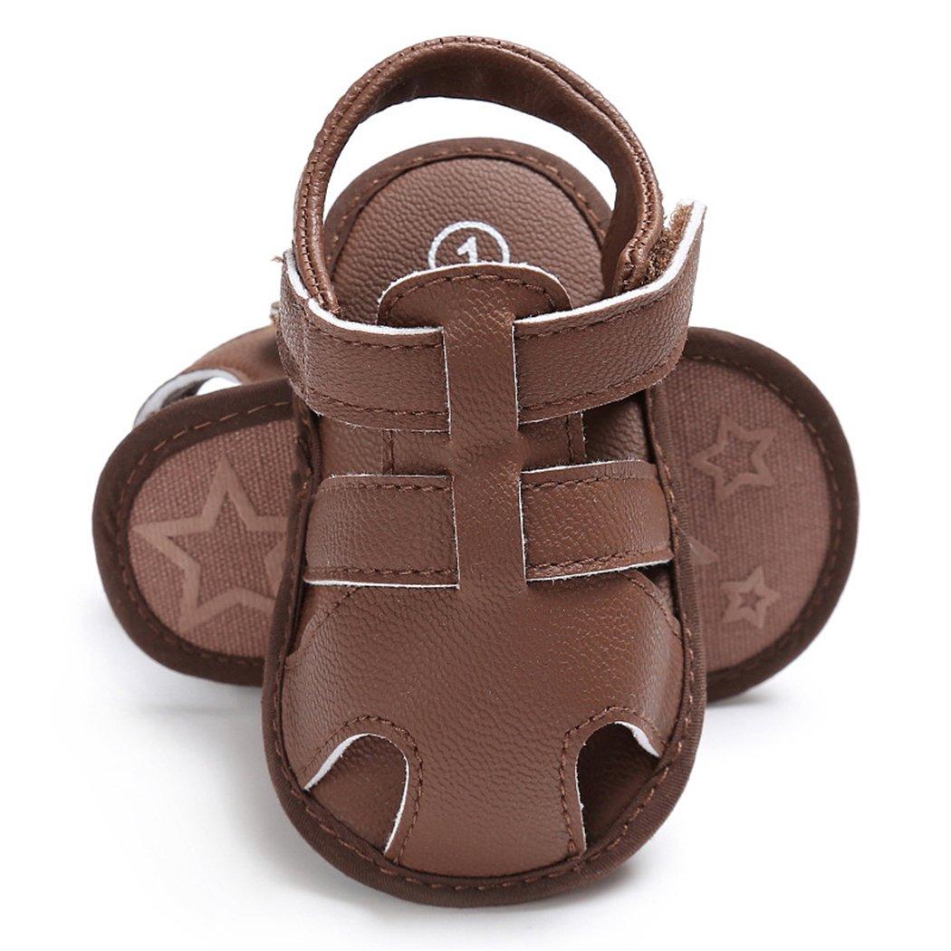 LINKEY Baby Summer Anti-Slip Adventure Seeker Walking Sandals Soft Sole Walking Shoes