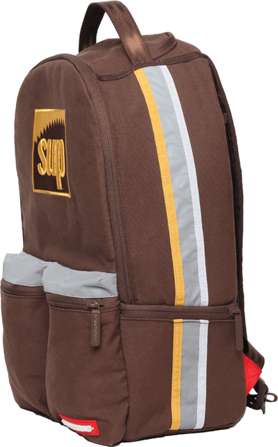 O//S, Brown Spraygound Sup Backpack